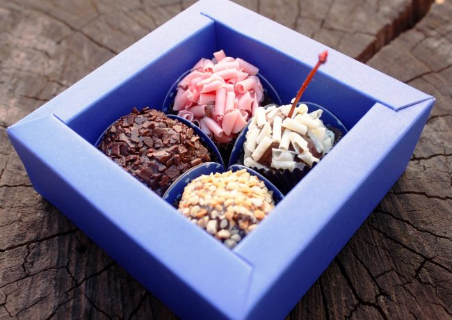 Pudełeczka na cukierki dla gości weselnych