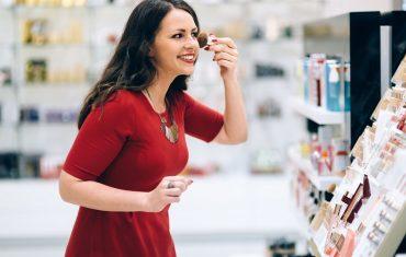 Sklep z kosmetykami dla kobiet