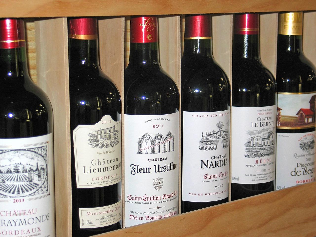 Duże opakowanie na wino